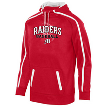 Load image into Gallery viewer, Mechanicville Baseball Tonal Heather Performance Hoodie- Youth, Ladies, & Men's, 3 Colors