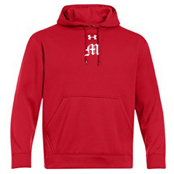 Mechanicville Baseball Under Armour Performance Hoodie- Ladies & Men's, 3 Colors