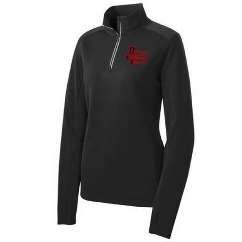 RCC 1/4 Zip Textured Pullover- Ladies & Men's, 5 Colors