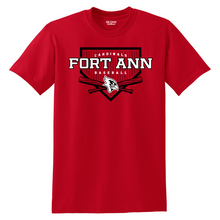 Load image into Gallery viewer, Fort Ann Baseball Cotton Tee- Youth & Adult, 3 Colors
