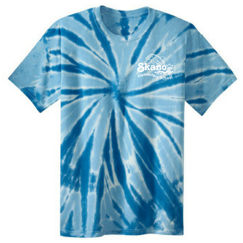 Skano/Shen Tie-Dye T-shirt- Youth & Adult, 2 Colors