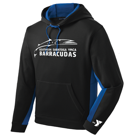 Barracudas Swim Team Performance Hoodie