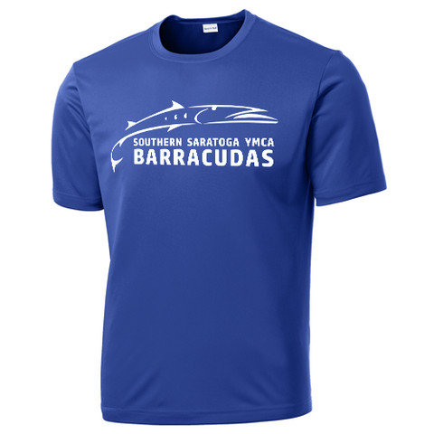 Barracudas Swim Team Moisture Wicking T-Shirt