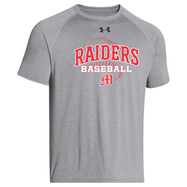 Mechanicville Baseball Under Armour Short Sleeve Performance Shirt- Ladies & Men's, 3 Colors