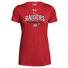 Load image into Gallery viewer, Mechanicville Baseball Under Armour Short Sleeve Performance Shirt- Ladies & Men's, 3 Colors