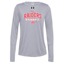 Load image into Gallery viewer, Mechanicville Baseball Under Armour Long Sleeve Performance Tee- Ladies & Men's, 3 Colors