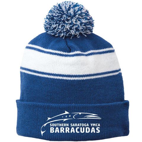 Barracudas Swim Team Beanie with Pom