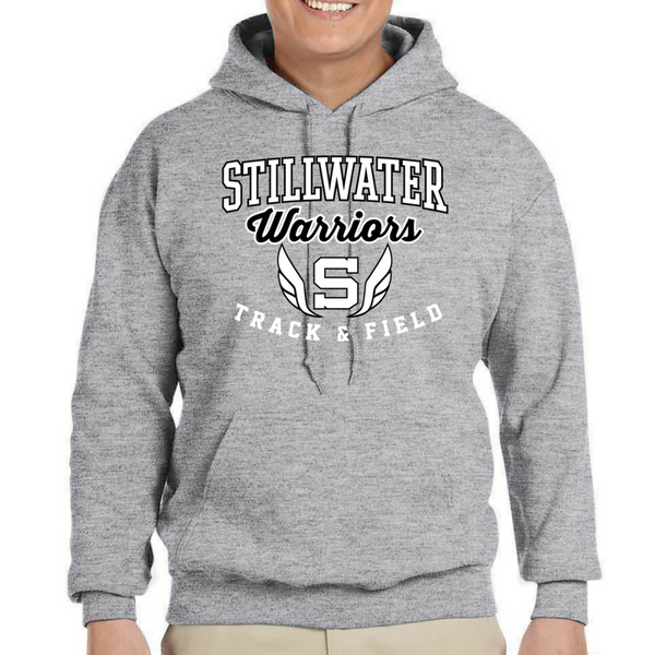 Stillwater Track & Field Hoodie- Youth & Adult, 2 Colors