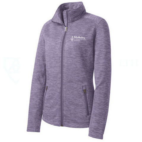 St. Peter's Digi Stripe Fleece Jacket- Ladies & Men's, 4 Colors