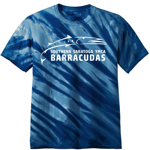 Barracudas Swim Team Tie-Dye T-Shirt