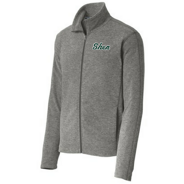 Shen Plainsmen Heathered Full Zip Micro-Fleece- Ladies & Men's, 2 Colors