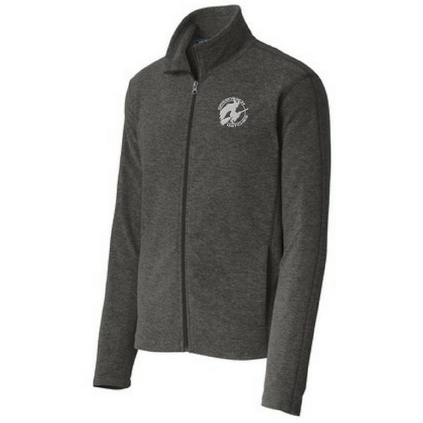 Greenwich Witches Heathered Full Zip Fleece- Ladies & Men's, 2 Colors