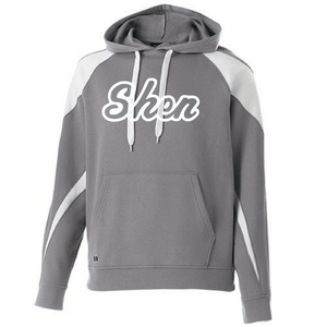 Shatekon/Shen Two-Tone Hooded Sweatshirt- Youth & Adult, 2 Colors