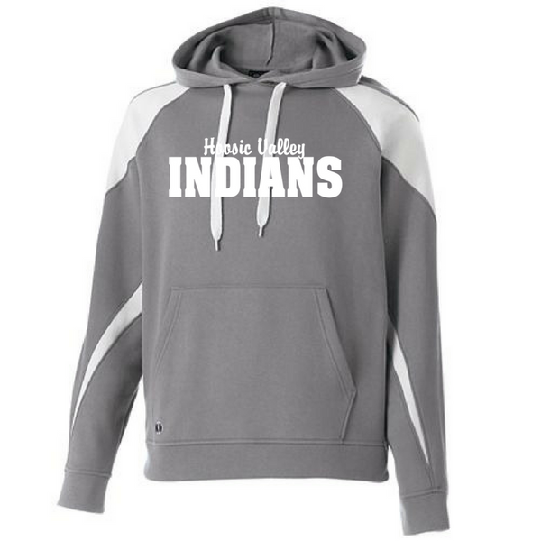 Hoosic Valley Indians Two-Tone Hooded Sweatshirt- Youth & Adult, 2 Colors