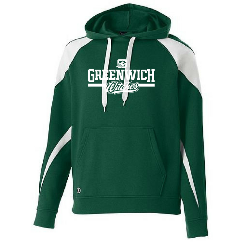 Greenwich Witches Two-Tone Hooded Sweatshirt- Youth & Adult, 2 Colors