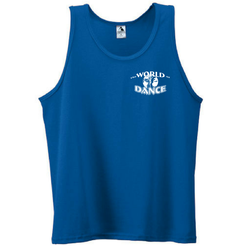 World of Dance Tank Top- Youth & Adult, 2 Colors