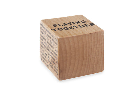"Replacement Block ""Playing Together"""