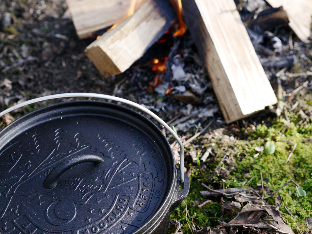 Dutch Oven and fire