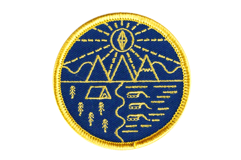 Great Outdoors Embroidered Patch