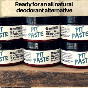 DEAL 3: Free Pit Paste, Natural Deodorant!