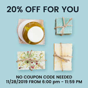 DEAL 1: Happy Thanksgiving + 20% off