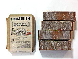 BODYTRUTH BRAND Dark Chocolate Patchouli by g.h. soaps