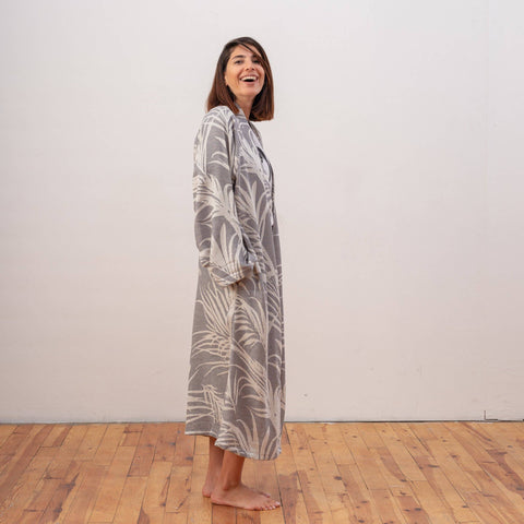 Zoey 100% Turkish Cotton Kimono Robe