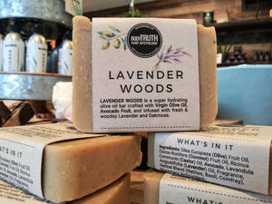 LAVENDER WOODS, Face & Body Bar