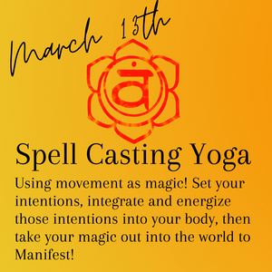 Spell-Casting Yoga with Lacey Daniels