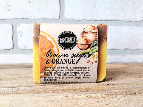 BROWN SUGAR & ORANGE, Bar Soap