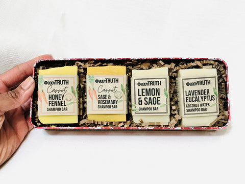 SHAMPOO BAR HOLIDAY SAMPLER