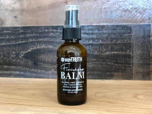Men's Facial Lotion, Finishing Balm, Locally made skin care, Aftershave Lotion for men, BODYTRUTHLAWRENCE, Downtown Lawrence