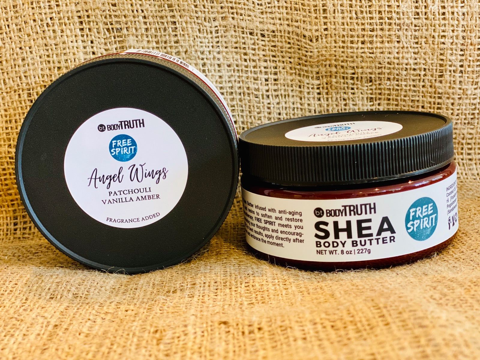 FREE SPIRIT, Angel Wings - Shea Butter - Bodytruth Soap Apothecary