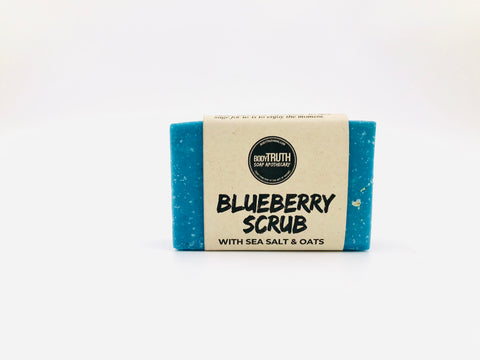 BLUEBERRY SCRUB, Bar Soap - Bodytruth Soap Apothecary
