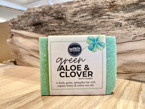 ALOE & CLOVER, Bar Soap - Bodytruth Soap Apothecary