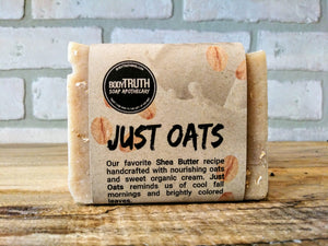 JUST OATS, Bar Soap