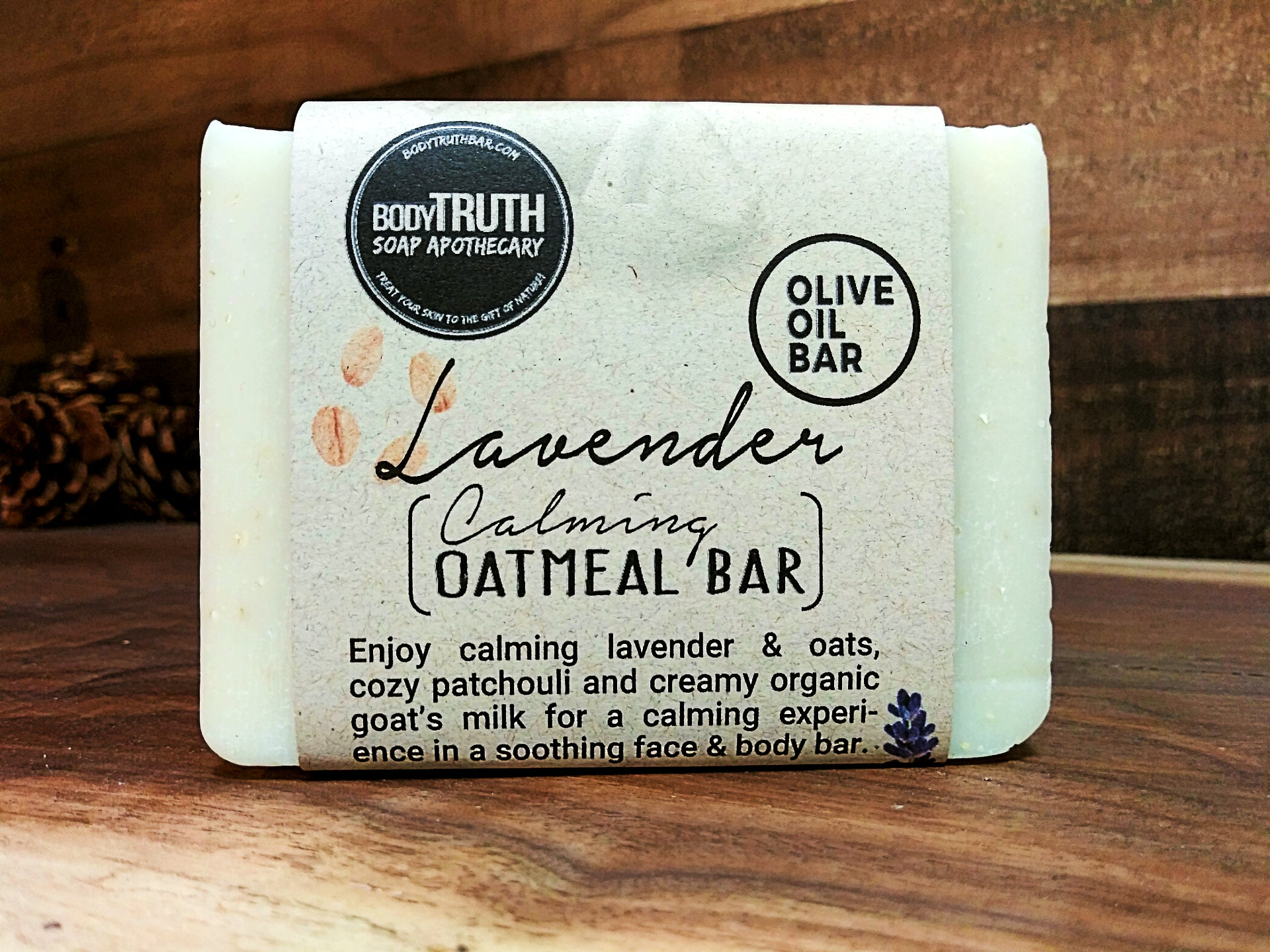 LAVENDER & OATS, Face & Body Bar