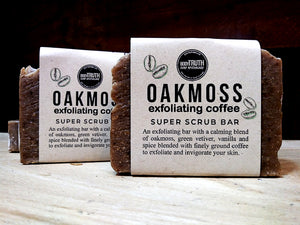 OAKMOSS & COFFEE SCRUB, Bar Soap