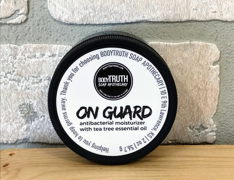 HAND GUARD, Hand Cream - Bodytruth Soap Apothecary