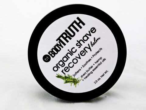 ORGANIC SHAVE, Aftershave Recovery Balm