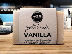 PATCHOULI VANILLA, Bar Soap