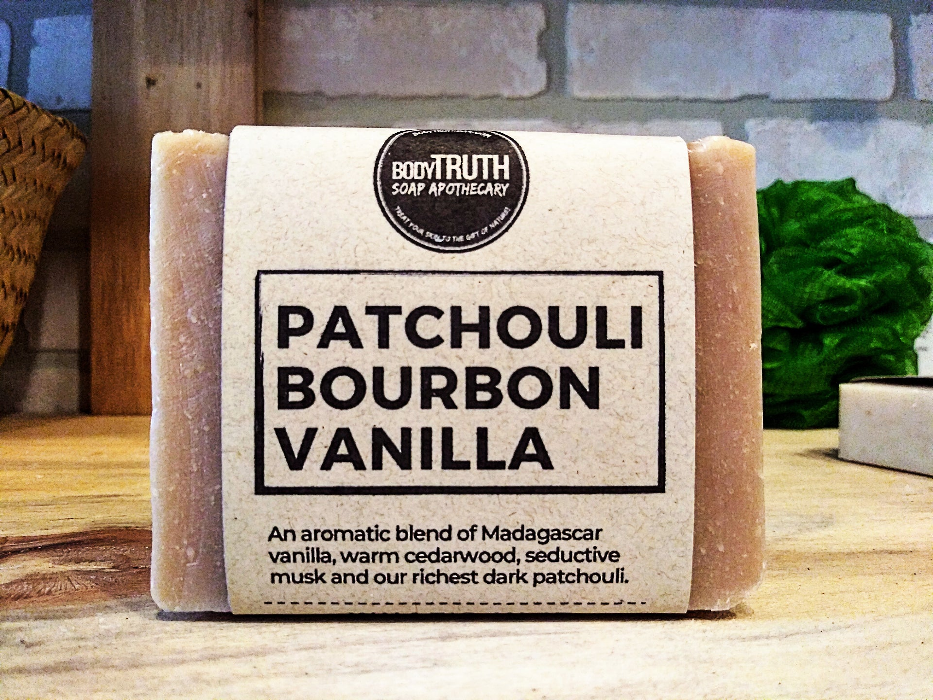 PATCHOULI BOURBON VANILLA, Bar Soap