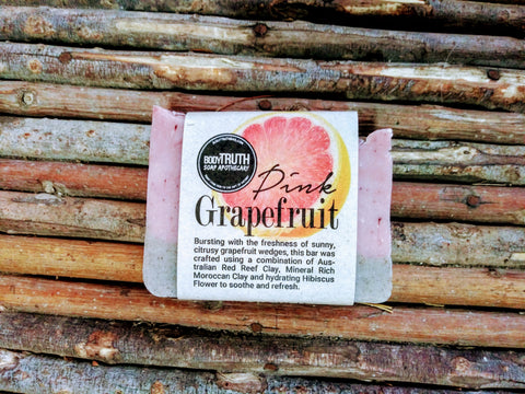 PINK GRAPEFRUIT & CLAY, Face & Body Bar