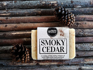 SMOKY CEDAR, Bar Soap