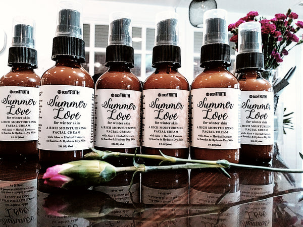 Bodytruth Soap Apothecary | Lawrence Kansas - Summer Love Facial Milk, Facial Serum, Facial Moisturizer