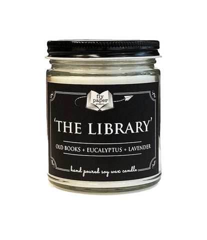 The Library, 9 oz Glass Candle