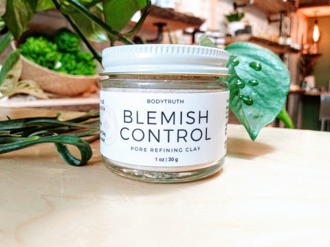 BLEMISH CONTROL, Pore Refining Clay Mask - Bodytruth Soap Apothecary