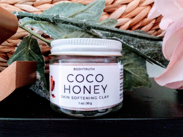COCO HONEY, Softening Clay Mask - Bodytruth Soap Apothecary
