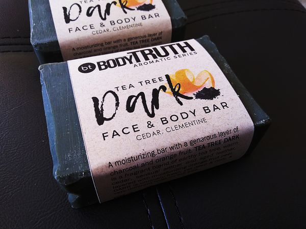 TEA TREE DARK, Face & Body Bar