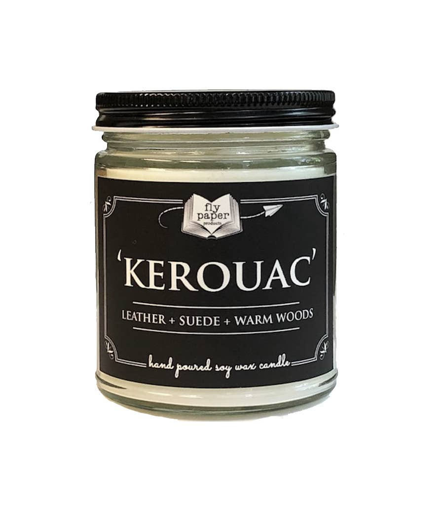 Kerouac, 9 oz Glass Candle